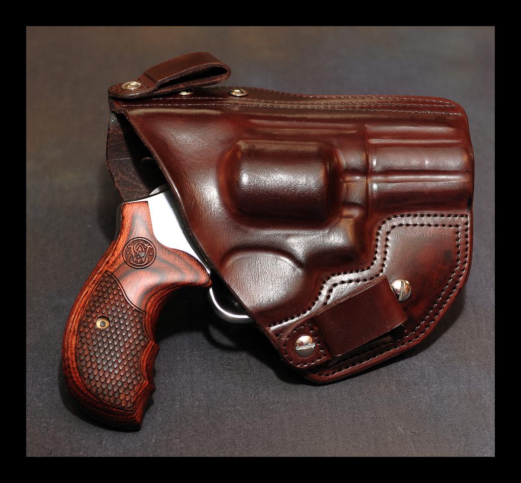 Concealing A K Frame Revolver